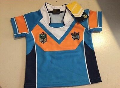 Unisex baby size 0 titans licensed jersey brand new with tags rrp $40