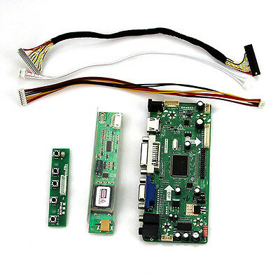 HDMI+DVI+VGA LCD Controller board Kit for QD15XL06 1024X768 Panel monitor 15""