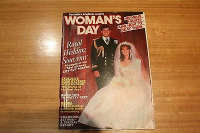 Womans Day: Royal Wedding Prince Andrew & Fergie 1986