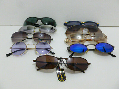 Sunglasses Lot Of 9 Assorted Mixed Brands ( Plastic/metals)  Hq  Frames 6353