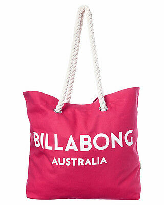 Brand New Tag Tags Billabong Large Beach Bag Gym Travel Essential Wild Berry