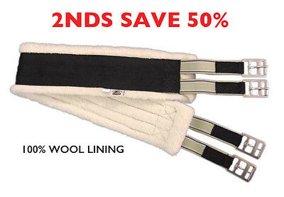 2NDS Wool Lined All Purpose Girth
