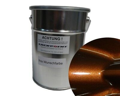 1L Basecoat Spray Finish LY8Y Ipanema Brown Met. Car Paint Tuning Opel,BMW,VW