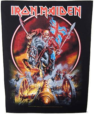 Iron Maiden Maiden England Back Patch XLG free worldwide shipping