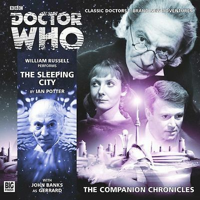 THE SLEEPING CITY Doctor Who Big Finish Companion Chronicle Audio CD 1st Dr/Ian