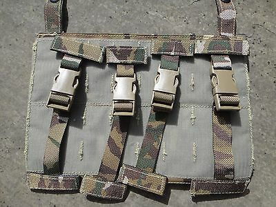 British Army MTP Osprey Ops Panel T Bar Fittings Ancillary Webbing Ancillaries