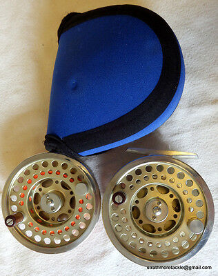 Diawa Altmor Fly Reel #5/6 + Spare Spool Made by Hardy England Excellent