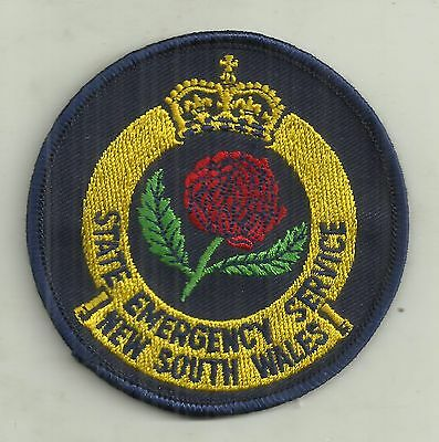 OBSOLETE NSW EMERGENCY SERVICES PATCH not BADGE