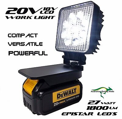 Dewalt Adapt Work Light 18v / 20v Max Compact Torch Light Floodlight