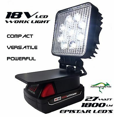 M18 Milwaukee Adapt LED Light Work Light Flood Light Spot Light Torch