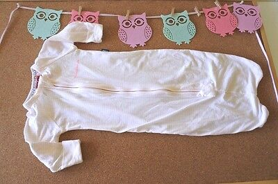 ** BONDS ** Sz 000 pink stripe WONDERBUNDLE sleeping sack bag! worn twice!