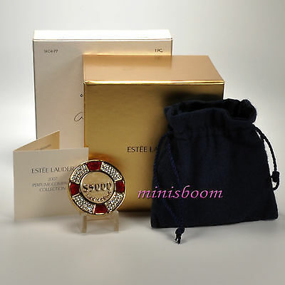 Estee Lauder LUCKY CHIP Compact for Solid Perfume 2007 All Boxes