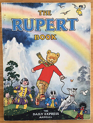 RUPERT ORIGINAL ANNUAL 1948 Neat inscription Not Price Clipped VG PLUS