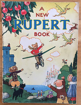 RUPERT ORIGINAL ANNUAL 1945 Neat inscription Not Price Clipped VG PLUS