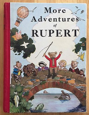 RUPERT ORIGINAL ANNUAL 1937 with Original Packaging  SUPERB EXAMPLE