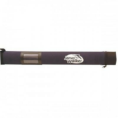 Jarvis Walker Rod Tube 1.6m 11cm Holds 2 to 5 rods Hard Case NEW