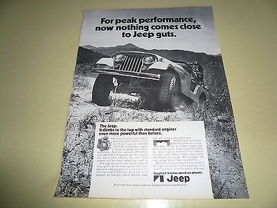 Jeep Guts - Ad/Advertisement