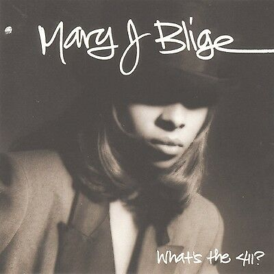 What's the 411? by Mary J. Blige (CD, Jul-1992, MCA)