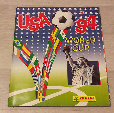 Album Panini Football USA World Cup 94 Non Complet