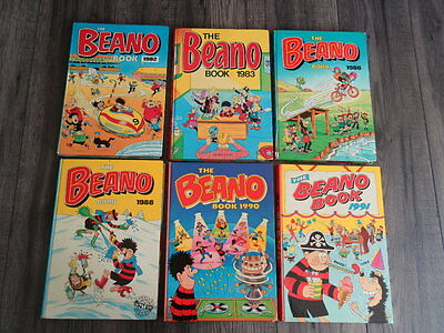 The Beano Book, Lot 1982-1991