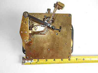Vintage Brass Seth Thomas Clock Movement Germany A403-000 6410 Two Jewels Parts