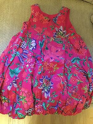 lovely girls pink catamini dress age 3