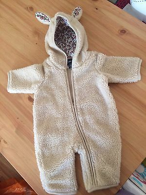 Baby Gap Sheep Suit 0-3 Months Excellent Condition