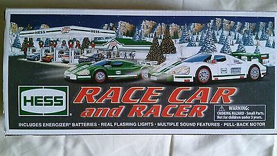 2009 Hess Race Car and Racer NEW in the box