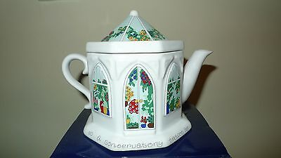 """Wade English Life """"conservatory teapot"""" by Barry Smith & Barbara Wootton."""