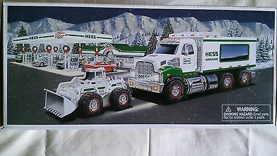 NIB Hess Toy Truck and Front Loader 2008
