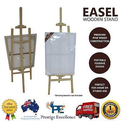 NEW Wooden Art Easel Foldable Display Painting Artist Stand Tripod Drawing Board
