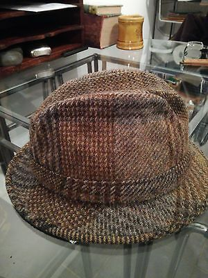 Dunn & Co Tweed Trilby Hat