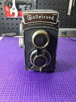 Rolleicord II Model 1 K3 - 1930's Vintage TLR Camera