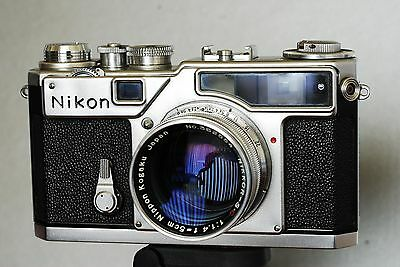 NIKON SP Rangefinder Camera with Standard Lens - ELEGANT!