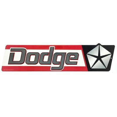 Vintage Style Dodge Embossed & Die-Cut Metal Sign  ORB-0127