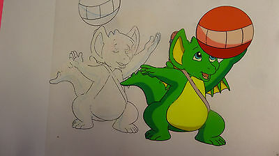 Pocket Dragons Original Production  Cel Cell Drawing Animation Art
