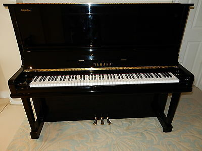 Yamaha U3 Silent Upright Piano. 0% Finance Available Around 20 Years Old
