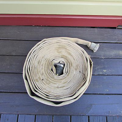 "Underwriters Laboratories 1-1/2"" x 75' Rubber Lined Fire Hose Tested To 300lbs"