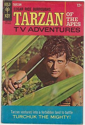 Tarzan #171 Ron Ely Photo cover 1967 Gold Key Edgar Rice Burroughs