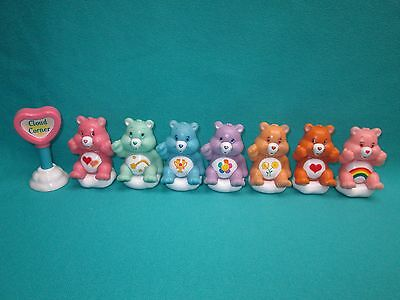 "2 1/2"" Care Bears 8 Piece Lot--A"