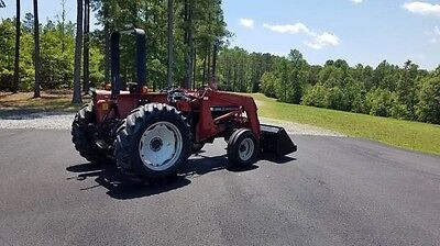 Case International IH 395 Tractor 46hp diesel with front loader free delivery