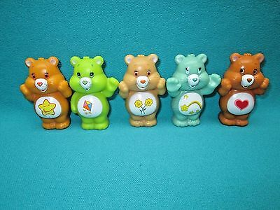 "Care Bears--2 1/2""-- 5 Piece Lot--B"
