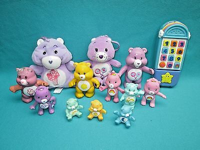 Care Bears  Lot  Of Assorted And Miscellaneous--D