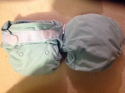 2x Blue Close Pop-in Reusable Nappies