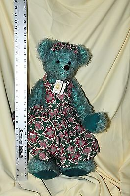 "Mohair 22"" Tall Free Spirit Teddy Bear - A One of a Kind Creation by Pat Lyons !"