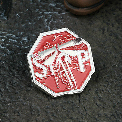 The Last of Us Part 2 Firefly Symbol Game Metal Collection 25*25mm TLOU Badge