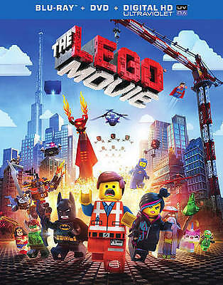 The LEGO Movie (Blu-ray/DVD, 2014, 2-Disc Set, Inc. Digital Copy UltraViolet)NEW