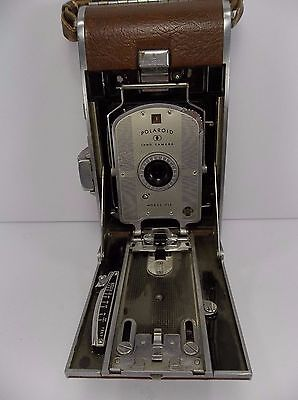 Vintage Polaroid Land Camera Model 95A Speedliner Folding Case