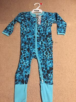 Bonds Zip Zippy Wondersuit Size 1 Jungle Leopard Athol Brand New!