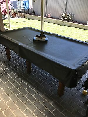 B And B Billiards Slate Pool Table With All Accessories 8 X 4 Table
